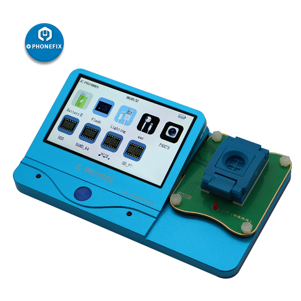 JC Pro1000S NAND Programmer 32 64 Bit NAND Flash Serial Data Read Write Repair Tool for iPhone 4 5 5S 6 6P for iPad Air Mini
