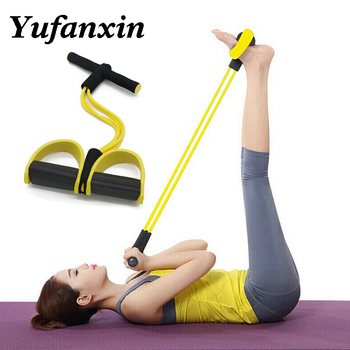 Elastic Pull Ropes Fitness Resistance Band Rope Exercise Equipment for Yoga Pilates Workout Latex Tube Pull Rope Home Gym Sport manila hemp 1pc 5cmx12meter 2 x 40ft battle rope exercise batting ropes gym muscle toning metabolic workout