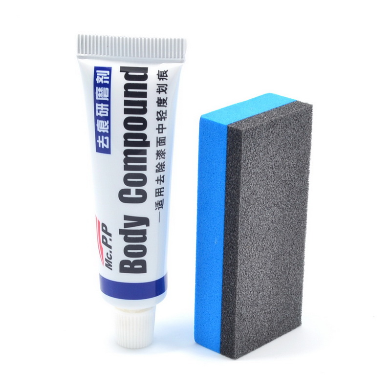 Car Styling Car Wax Scratch Repair Kits Auto Body Compound MC308 Polishing Grinding Paste Paint Care Set Auto Accessories Fix It