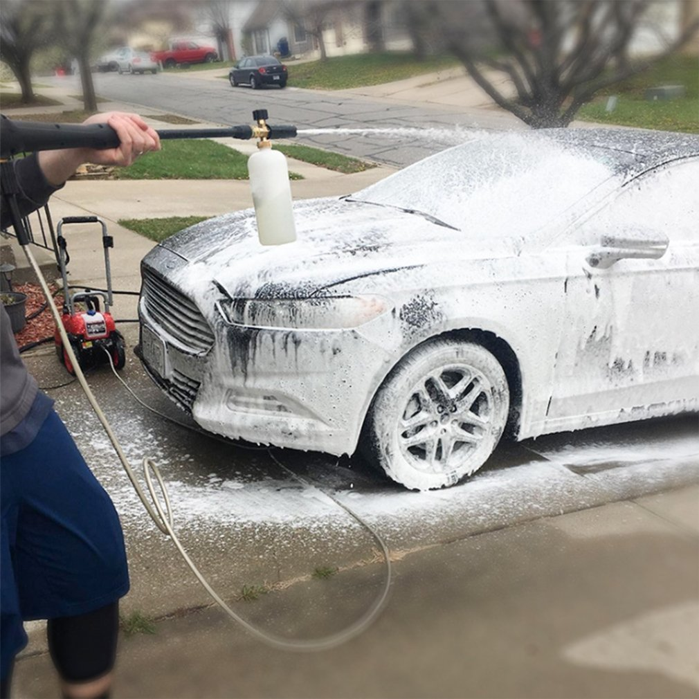 2020 New Super Powerful Professional Adjustable Brass Snow Foam Lance Foam Nozzle Foam Cannon High Pressure Washers
