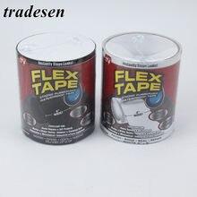 10cm 20cm 30cm super forte fibra à prova dwaterproof água fita parar vazamentos selo reparação fita desempenho auto fix fita adesiva prendedor