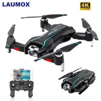 LAUMOX S17 RC Drone With 4K Adjustable Wide Angle HD Camera Optical Flow Drone Foldable Quadcopter RC Helicopter VS SG106 XS812