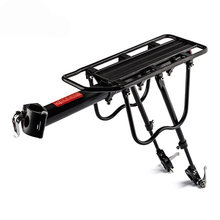 PROMEND 150kg Capacity Aluminum Alloy Bicycle Racks Bicycle Luggage Carrier MTB Bicycle Mountain/Road Bike Rear Rack Install Com(China)