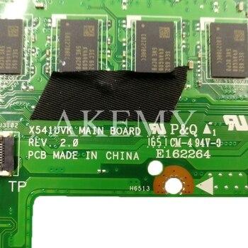 Akemy Dla ASUS X541UJ X541UV X541UQ X541U X541 X541UVK X541UQk Laotop Płyty Głównej Płyta Główna X541UV Płyta Główna W/GT940M I7-6500U 8GB Pamięci RAM