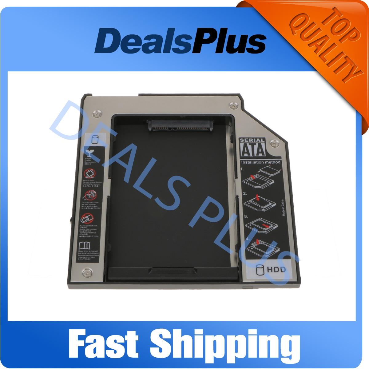 Ultrabay Slim SATA 2nd Hdd Hard Drive Caddy For Module Lenovo ThinkPad T400 T500 New 9.5mm