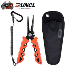 RUNCL Aluminum Alloy Fishing Pliers S1 Grip Set Split Ring Cutters Line Hook Recover Fishing Tackle High Quality Fishing Tool