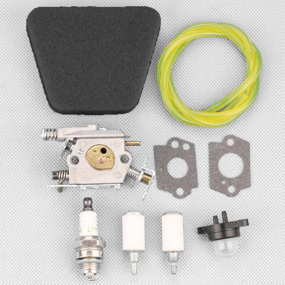 Carburetor Spark Plug Kits For Partner 351 352 370 371 390 391 401 420 Chainsaw