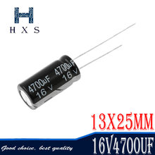 50 pces higt qualidade 25v10uf 4*7mm 10 uf 25 v 4*7 capacitor eletrolítico 10uf25v