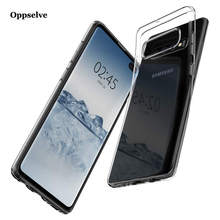 Oppselve Ultra Thin Soft TPU Silicone Case For Samsung Galaxy S10 S10e Plus Capinhas Cover Coque Fundas