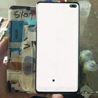 100% SUPER AMOLED Display S10Plus S10+ G750 G975F LCD Touch Screen Digitizer Display Assembly For SAMSUNG Galaxy S10 Plus+spot