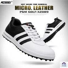 Golf-Shoes Sport Casual Pgm Pscownlg Kwaliteit Hoofd Schoenen Hoge Laag Koeienhuid Mannen