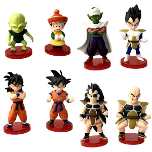 1 pcs Dragon Ball Z Super Saiyan Goku Vegeta PVC Model Anime Collection Action Figure Kid Gift Toy