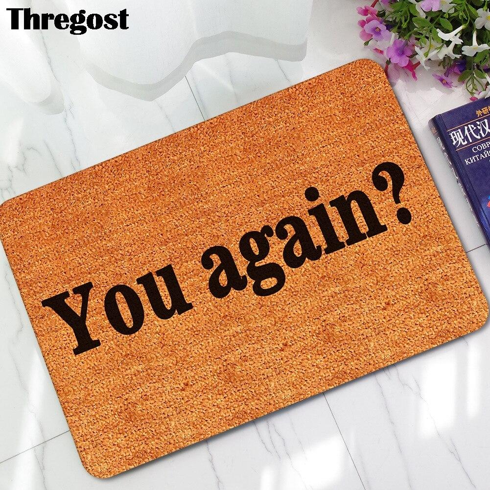 Rug Thin Door Mats Waterproof Carpet