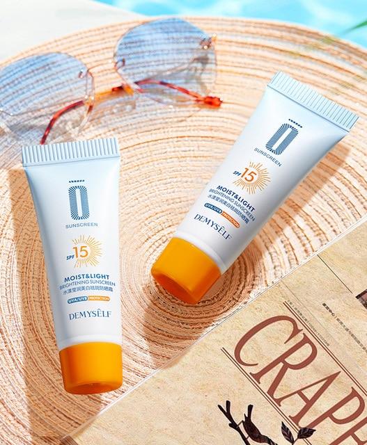 Anti-Aging Moisturizing Sunscreen Whitening Cream SP 15 Facial Sunblock Face Body Care Protective Cream Sunscreen Cosmetic Tools 4