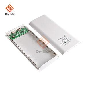 Image 2 - 8X18650ไฟฉายแบตเตอรี่กล่องชาร์จ Charger Box Power Bank DIY Shell Dual USB 18650แบตเตอรี่ Shell Storage จัดระเบียบ