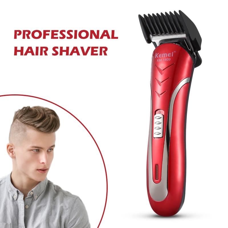 Rechargeable Hair Clipper Barber Shop All Metal Electric Hair Trimmer Men Professional Beard Trimmer Haircut Machine