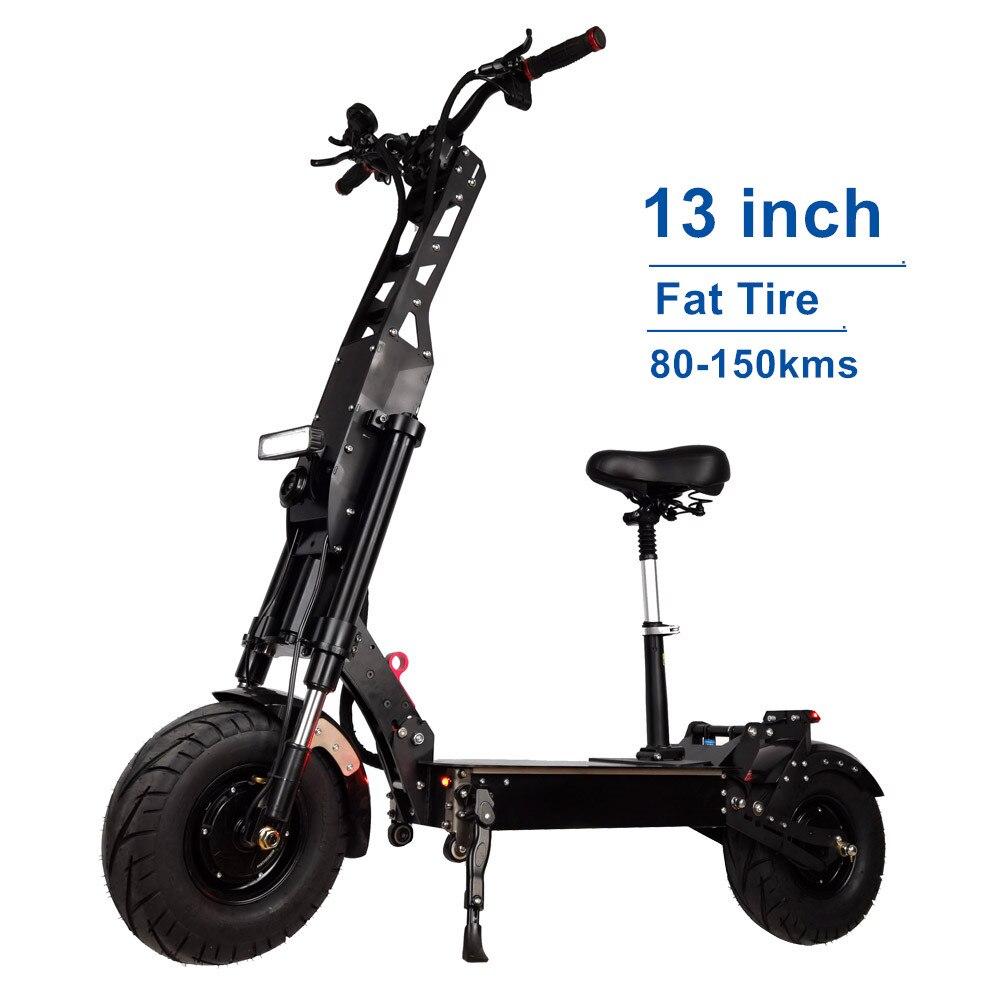 t11 c10 scooter elétrico com luz freio traseiro