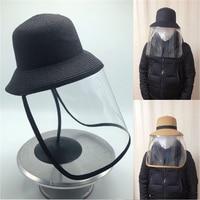 2020 chapéu de verão boonie balde chapéus camo pescador chapéus com aba larga sun pesca balde chapéu malha respirável poliéster corte rápido|Bonés de pesca| |  -