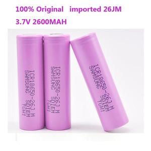 100% Оригинальный аккумулятор 26J ICR18650-26J M 3, 7 V 2600mah 18650