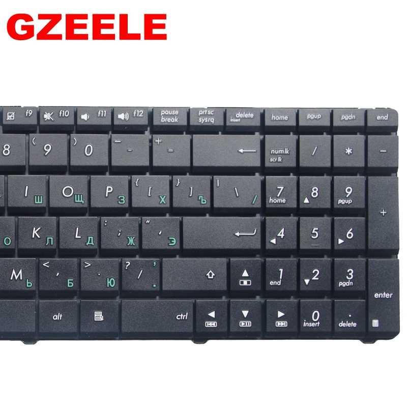 Rusia Keyboard untuk Laptop Asus K53SV K53E K53SC K53SD K53SJ K53SK K53SM Ru
