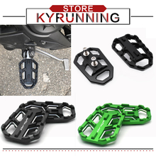 For Versys650 Versys1000 VERSYS 650 1000 X300 VERSYS -X300 Motorcycle Rear Footrest Foot Pegs Footpegs CNC Passenger Pedals obdstar x300 pad2 x300 dp plus c package full version 8inch tablet support ecu programming and toyota smart key