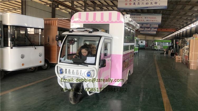 Fashion Good Quality Ice Cream Mini Food Trucks For Sale