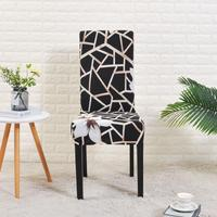 Spandex Black Chair Cover For Dining Room 1 Chair And Sofa Covers