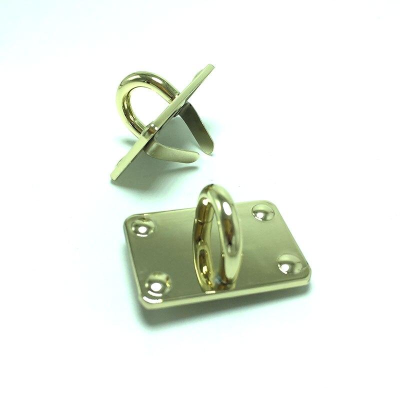 10pcs High Quality Luggage Hardware Handbag Hardware Accessories Upscale Leather Bag Alloy Arch Bridge 38x25mm