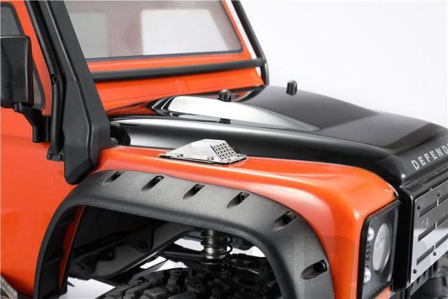 Couvercle dentrée dair à grand débit pour moteur de filtre à Air de voiture RC pour Traxxas TRX4 Land Rover Defender D90 D110 série RC pièces de voiture modèle
