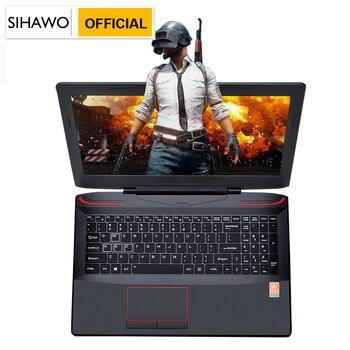 "SIHAWO 16GB RAM 128GB SSD 17.3"" Core i7-7700HQ GTX1060 Dedicated Graphics Windows10 Game Laptop Backlit Keyboard Gaming Notebook 1"