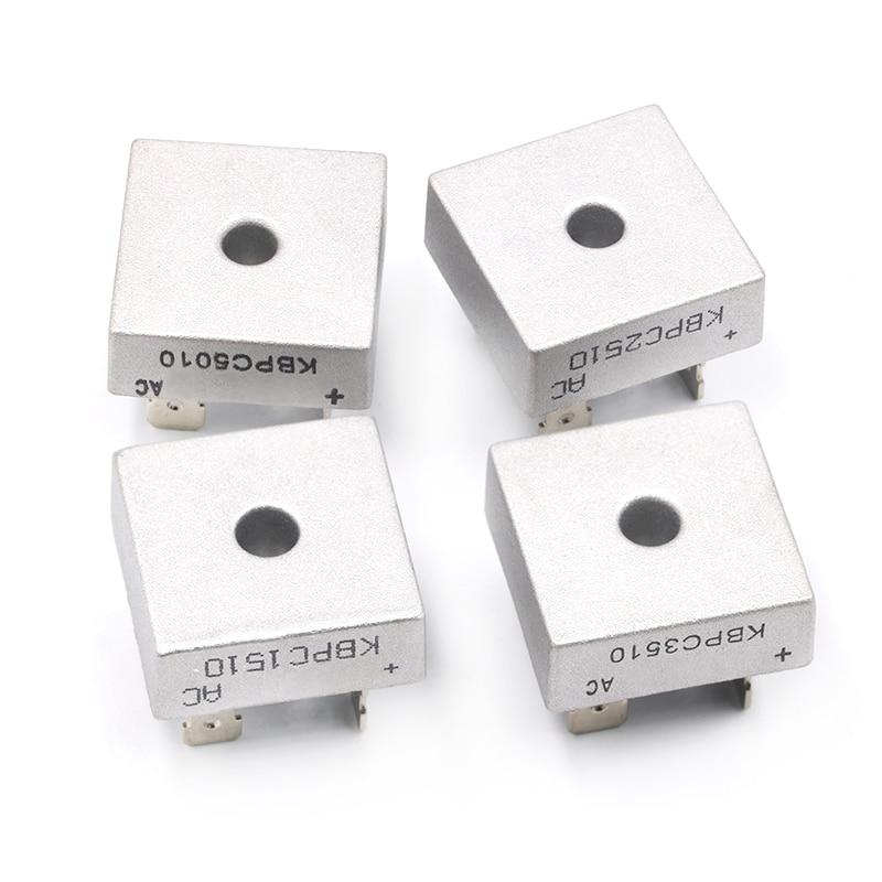 2PCS KBPC5010 50A 1000V Diode Bridge Rectifier kbpc5010