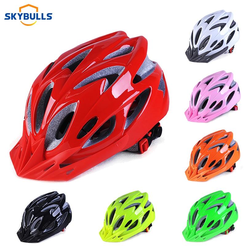 Ultralight Cycling Helmets Integrally-Molded Sporting Bike Racing Safety Helmets