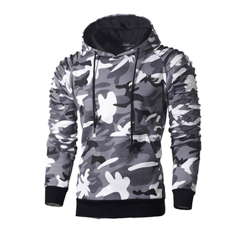 Hip Hop Top männer Hoodies Pullover Sportswear Langarm Camouflage Mit Kapuze Shirt Herren Marke Kleidung Männlichen Casual Sweatshirt