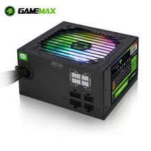 Gamemax VP-600-M-RGB Rgb Pc Voeding 600W Semi Modulaire 80 + Brons Psu Pfc Stille Ventilator Pc Computer Sata gaming Pc Voeding