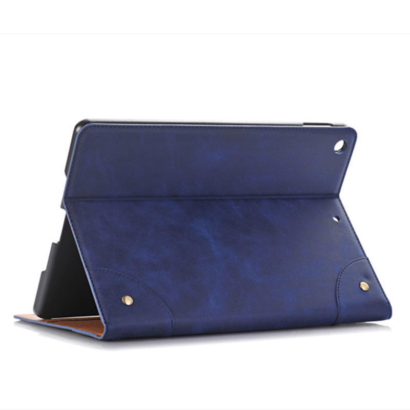 Essidi 2019 New Leather Smart Case For ipad Air 1 2 Wallet Bag Tablet PC Stand Flip Case Cover For ipad 5 6th Generation