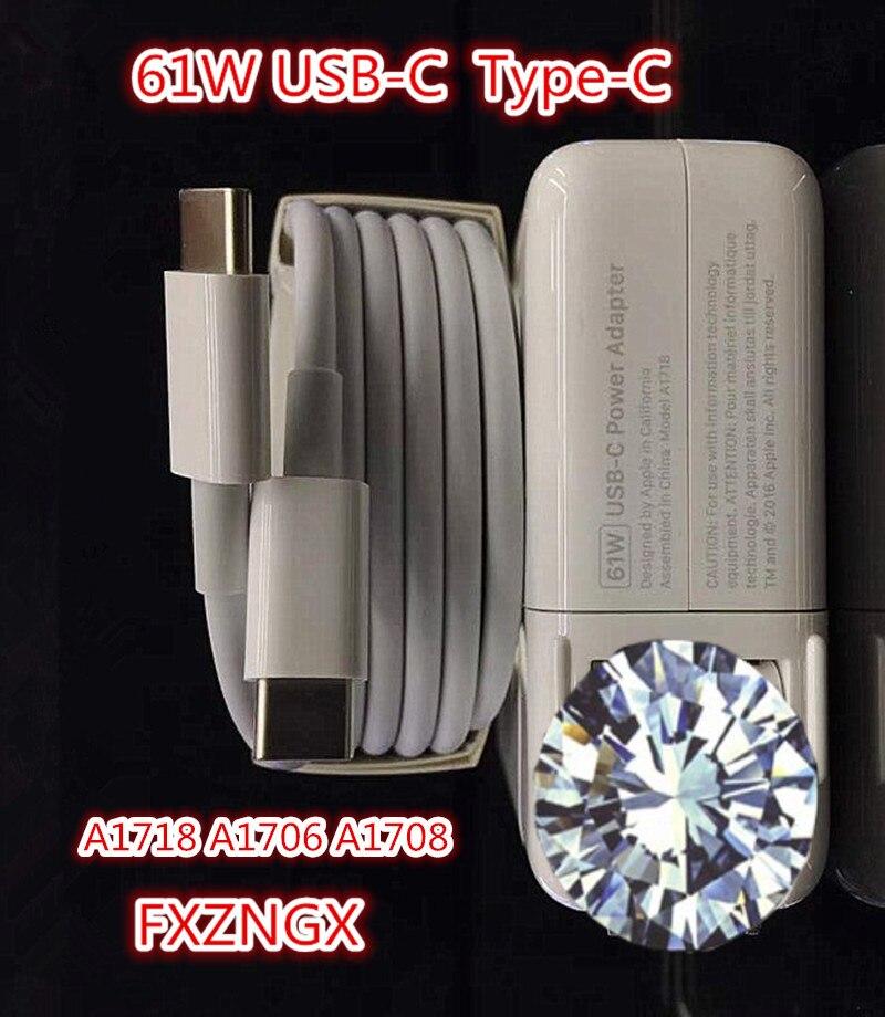 Nouveau 61W USB-C chargeur adaptateur pour MacBook PRO 13