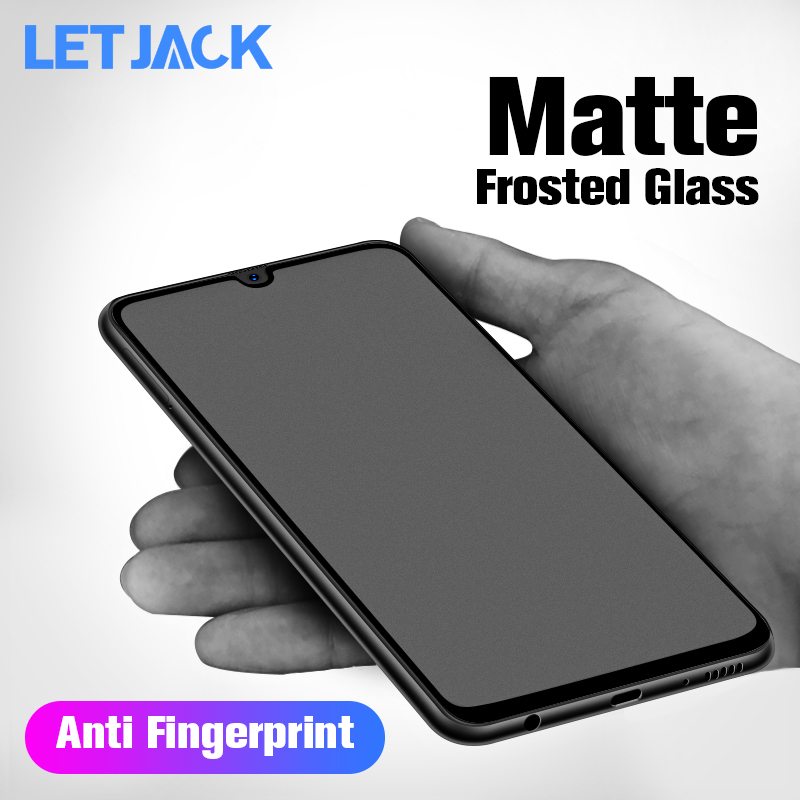 Matte Frosted <font><b>Screen</b></font> Protector Film for <font><b>Samsung</b></font> Galaxy J3 J5 J7 <font><b>J2</b></font> Pro <font><b>2018</b></font> A60 A90 A70 A40 A2 Core Fingerprint Tempered Glass image