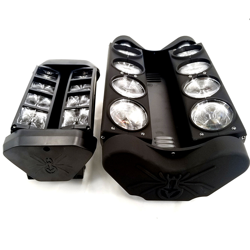 New Moving Head Led Spider Light 8x15W 4in1 RGBW Led Party Light DJ Lighting Beam Moving Head DMX DJ Light