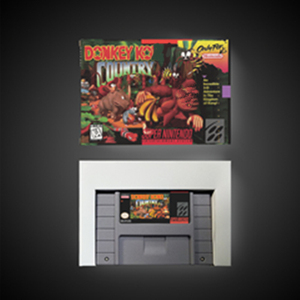 Image 1 - Donkey Land Kong Rpg Game Card Batterij Besparen Us Versie Doos
