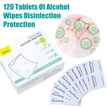 Sterile Alcohol Tablets 6x6cm Disposable of 15/20/30ml-wiping-tools Cotton 100/120/200pieces