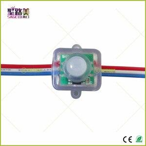 Image 5 - 500Pcs DC5V /DC12V Ws2811 Vierkante Led Pixels Modules T1515 12Mm Led Module Verlichting String IP68 Waterdichte Adresseerbare digitale