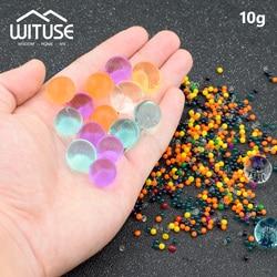 10g/bag Crystal Soil Hydrogel Gel Polymer Water Beads Flower Wedding Decoration polymer Growing Water Balls Big Home Decor