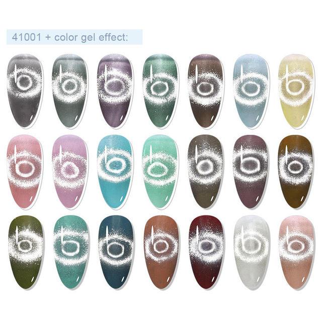 Elite99 10ml Magnetische Gel Nagellack Gelee Cat Eye Gel Semi-transparente Weg Tränken UV Gel Lack Loch snowlight Magnetische Gel