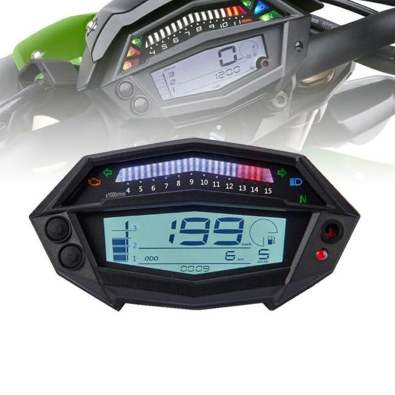 Tachymètre de moto compteur horaire indicateur de vitesse numérique indicateur de vitesse pour Kawasaki Z1000