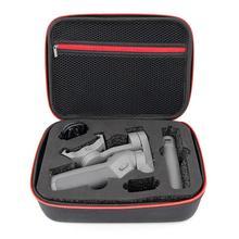 Draagbare Draagtas Beschermende Nylon Pu Opbergtas Handheld Gimbal Opbergdoos Voor Dji Osmo Mobiele 3 Accessoires