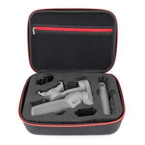Image 1 - Draagbare Draagtas Beschermende Nylon Pu Opbergtas Handheld Gimbal Opbergdoos Voor Dji Osmo Mobiele 3 Accessoires