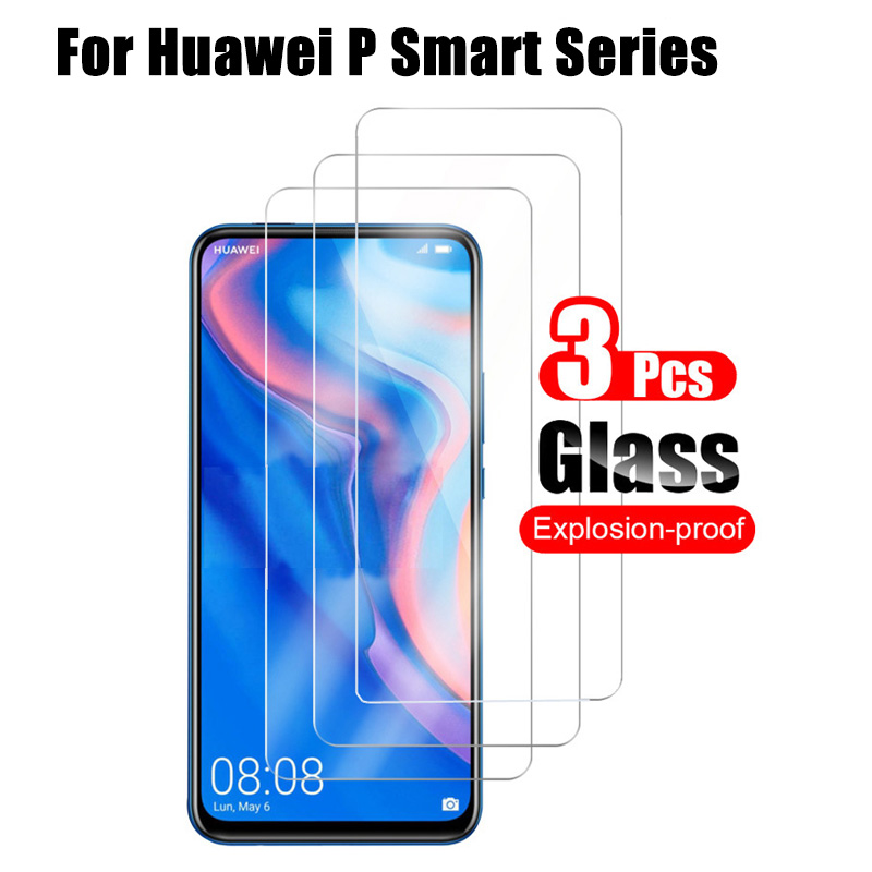 3Pcs Screen Protector For Huawei P Smart Z Tempered Glass For Huawei P Smart Plus 2019 Glas Hauwei PSmart SmartZ Protective Film