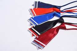 Досуг #81 стрела Твин-нож галстук отель Рабочий двойной ленивый мужской галстук в чистый цвет