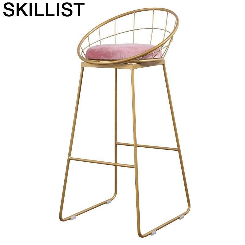 Taburete Para Barra Stoel Stuhl Sandalyesi Table Fauteuil Sgabello Banqueta Todos Tipos Silla Cadeira Stool Modern Bar Chair