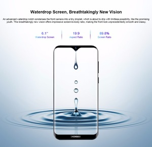 "Image 3 - Doogee X90 Mobile Phone 6.1"" HD Waterdrop Screen 1GB RAM 16GB ROM 3400mAh MT6580A/WA Quad Core Face ID Android 8.1 Smartphone"